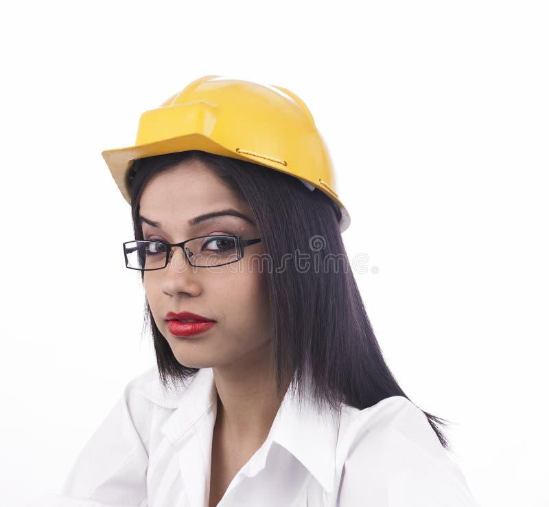 亚裔工程师女性 库存照片