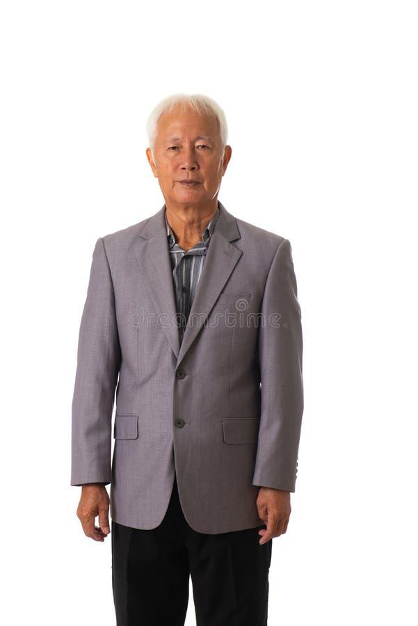 亚裔生意人前辈 库存图片