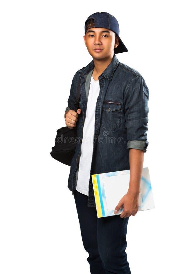 亚裔男孩少年 免版税库存照片