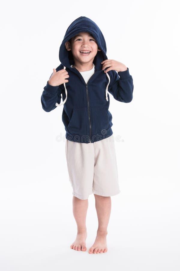 亚裔男孩-隔离的各种各样的图象 免版税库存图片