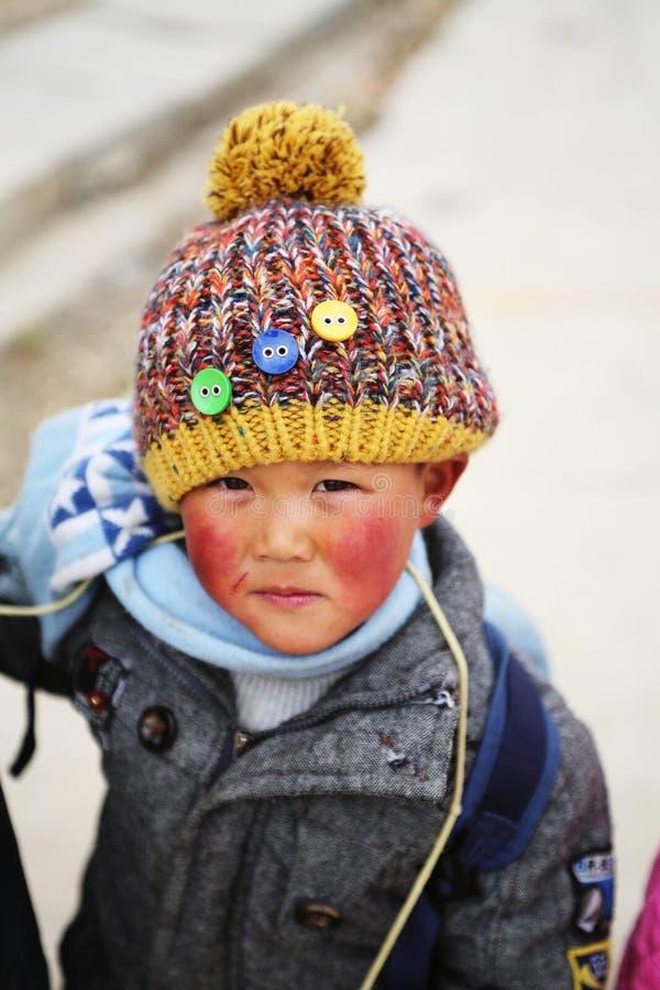 亚裔男孩 图库摄影