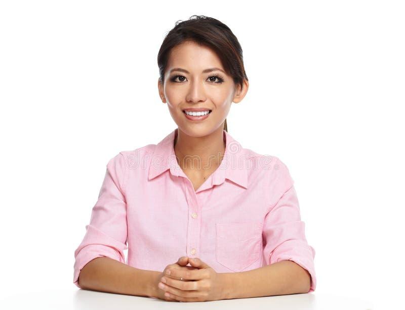亚裔美丽的女商人 库存图片
