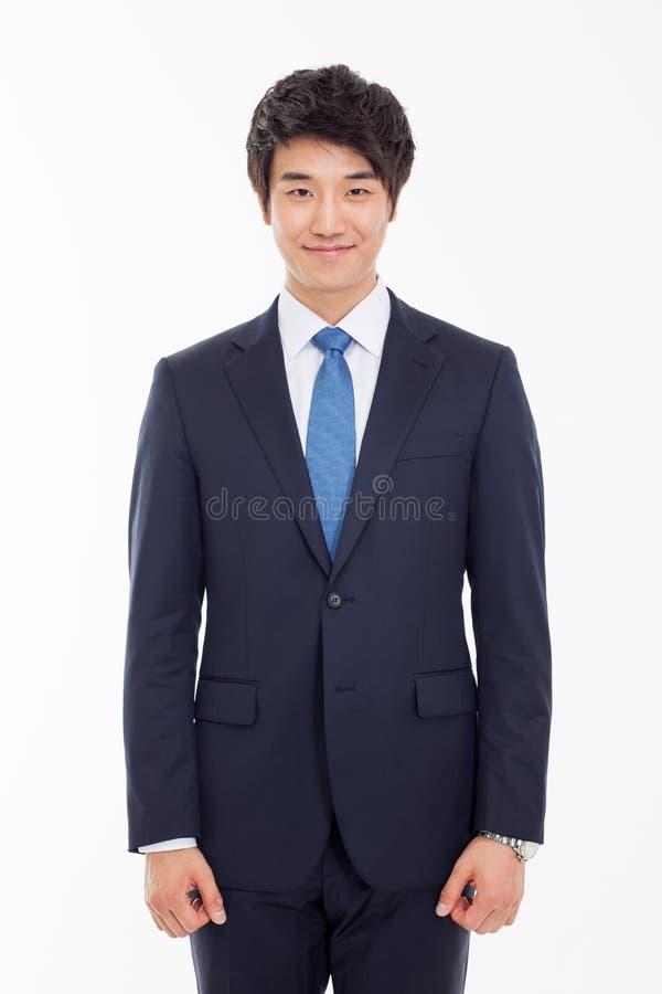 亚裔年轻商人 免版税库存照片