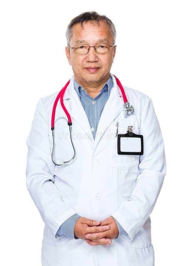 亚裔医生 图库摄影