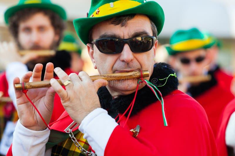 维亚雷焦狂欢节的140th编辑  库存图片