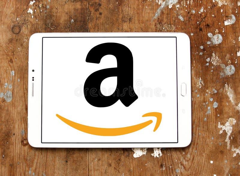 亚马逊商标 免版税库存照片
