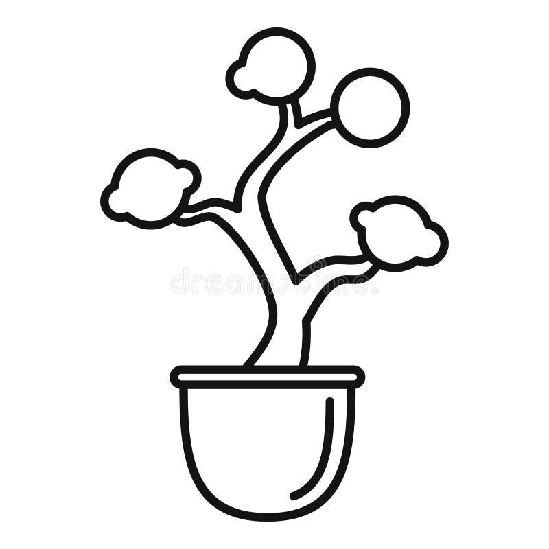亚马逊树罐象,概述样式 库存例证