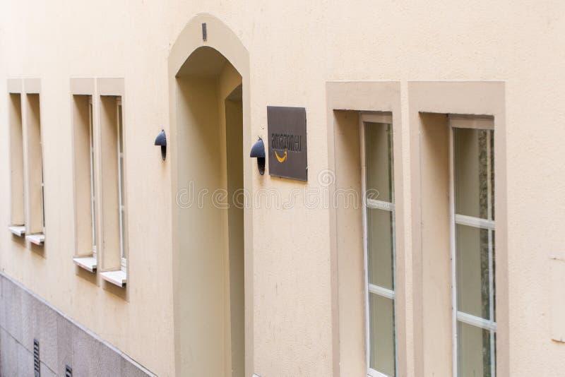 亚马逊欧洲总部在卢森堡 免版税库存照片