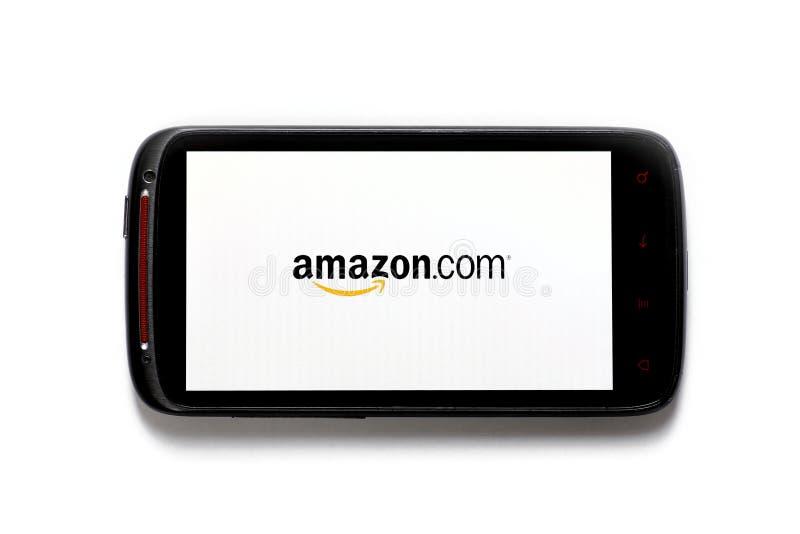 亚马逊电话 免版税库存图片