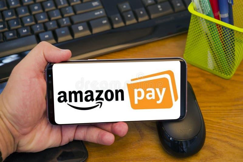 亚马逊薪水 免版税库存图片