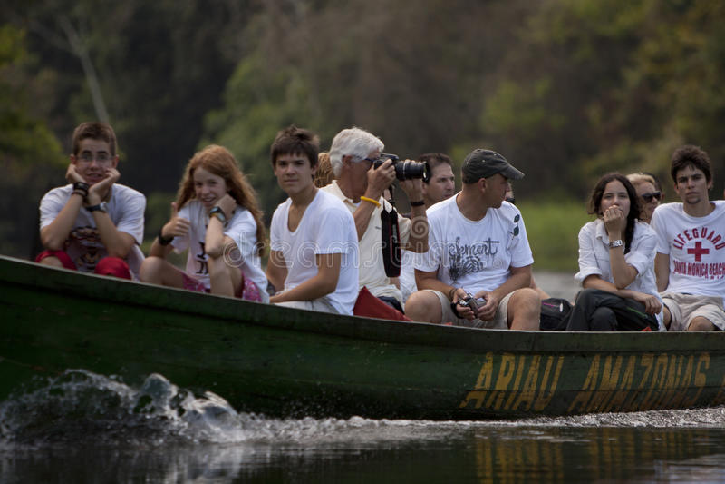 亚马逊远征 免版税库存照片