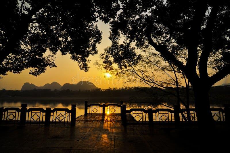 亚洲中国桂林 免版税库存照片
