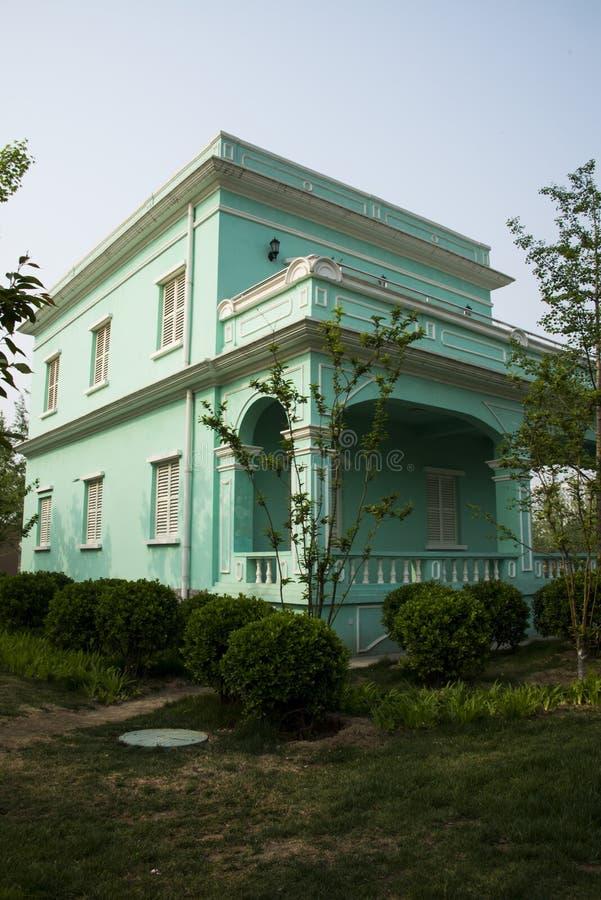 亚洲中国建筑学在澳门 免版税库存照片
