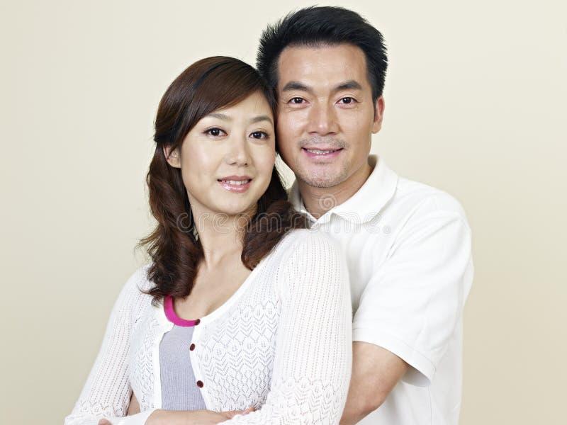 年轻亚洲夫妇 库存图片