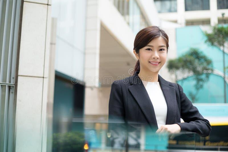 亚洲女商人年轻人 库存图片