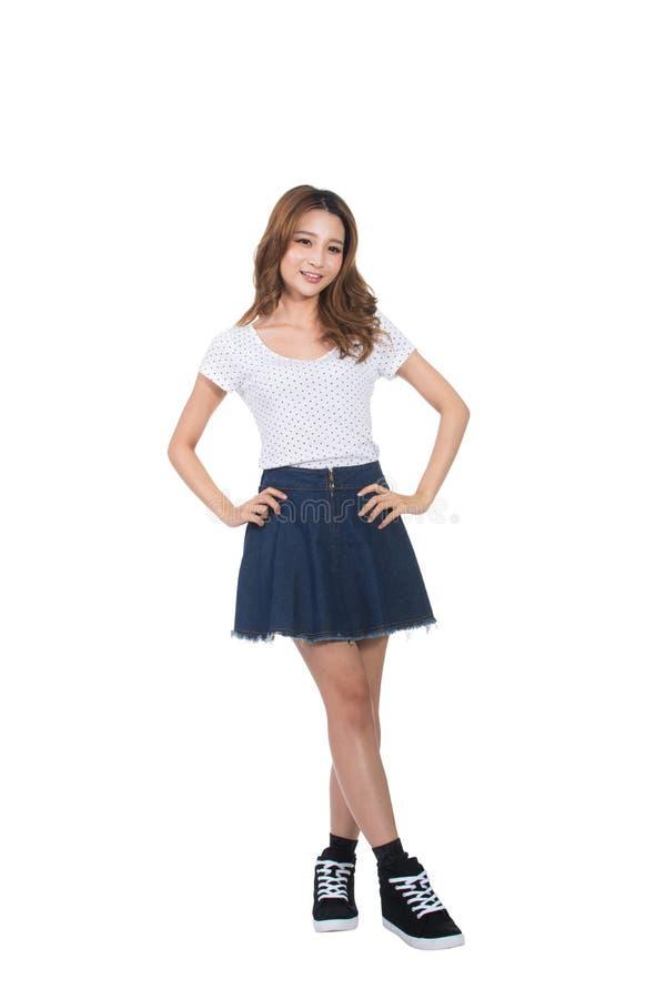 亚洲女孩年轻人 图库摄影