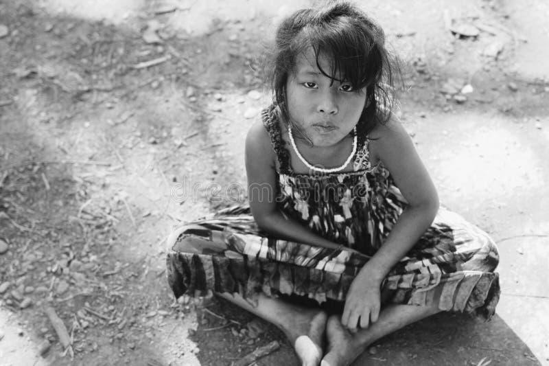 亚洲女孩 库存照片