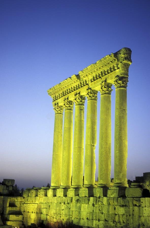 亚洲黎巴嫩巴勒贝克 免版税库存照片