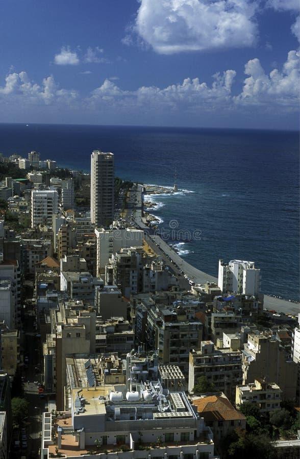 亚洲黎巴嫩贝鲁特 库存照片
