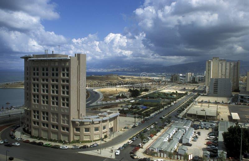 亚洲黎巴嫩贝鲁特 免版税库存照片