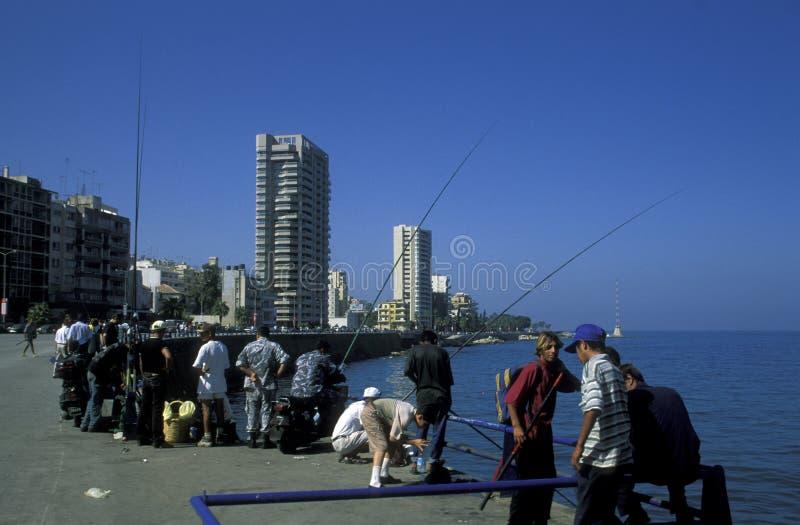 亚洲黎巴嫩贝鲁特 免版税库存图片