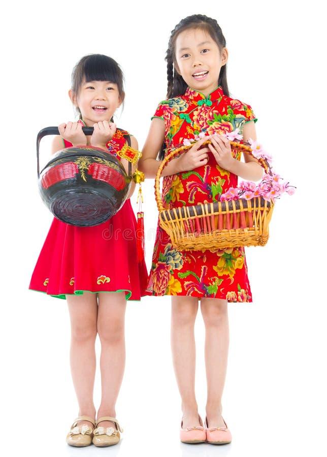 亚洲孩子 免版税库存照片