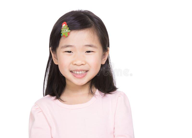 亚洲小女孩 库存图片