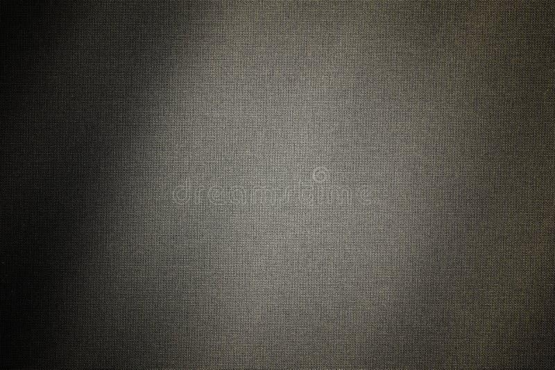 亚麻布与阴影的被编织的帆布 图库摄影