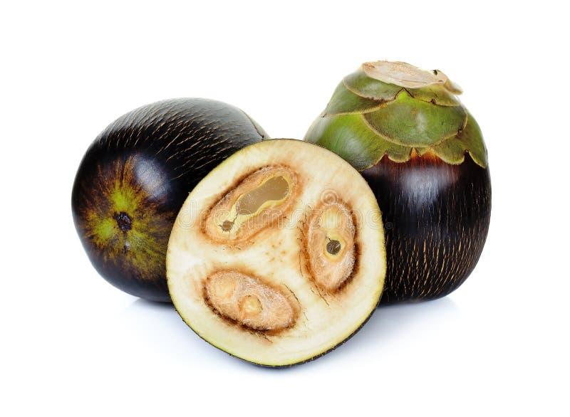 亚洲扇叶树头榈棕榈,棕榈汁,桄榔 免版税库存照片