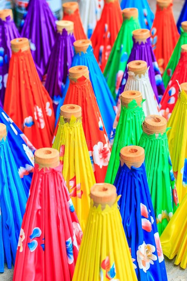 亚洲样式伞 库存图片