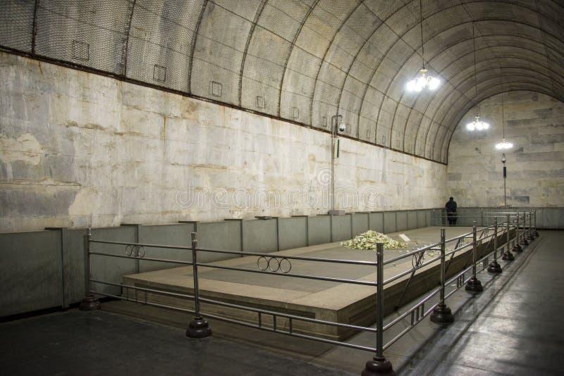 亚洲汉语,北京,明代Tombsï ¼ Œunderground palaceï ¼ ŒUnderground坟茔 图库摄影