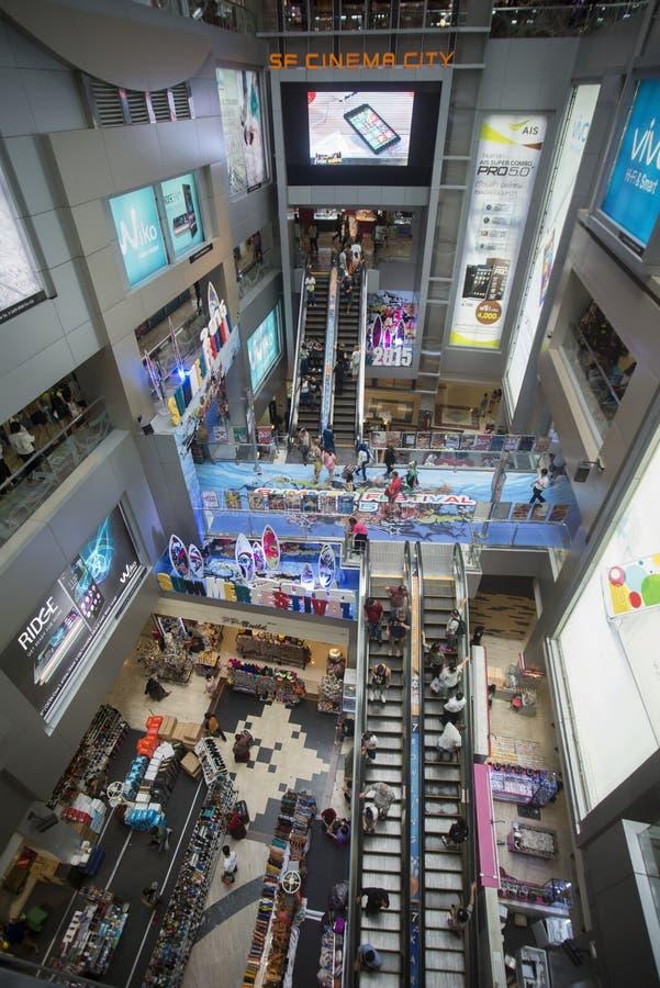亚洲泰国曼谷泰国广场模范购物 库存图片