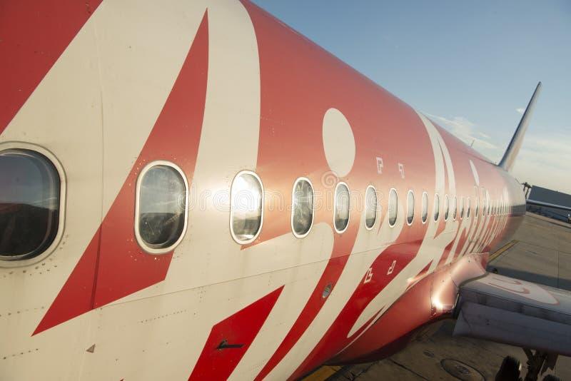亚洲泰国曼谷航空旅行 免版税库存图片
