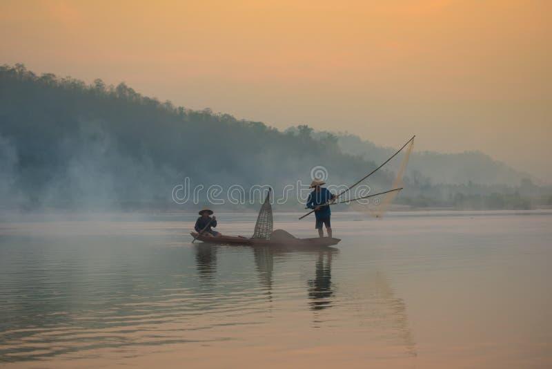 亚洲渔 图库摄影