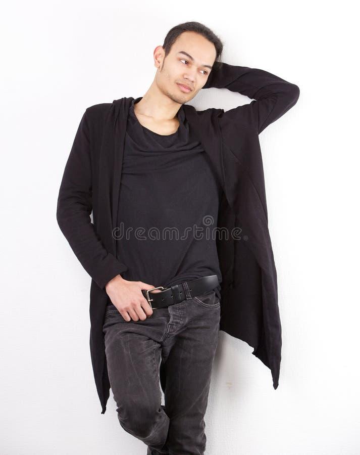 亚洲男性时装模特儿 库存照片