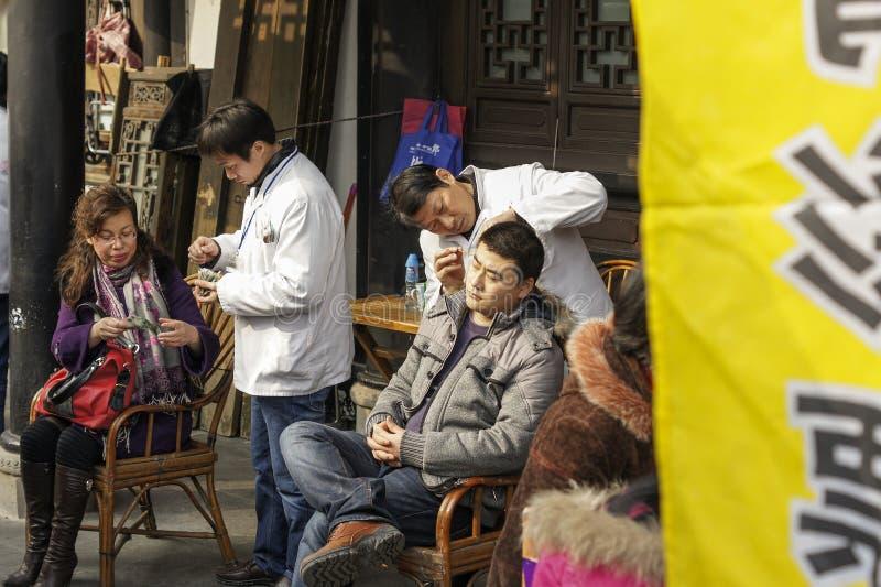亚洲耳朵采撷 免版税图库摄影