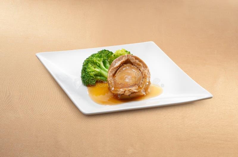 亚洲食物鲍鱼 免版税库存图片