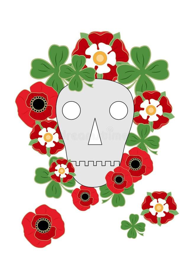 死亡标志 库存例证