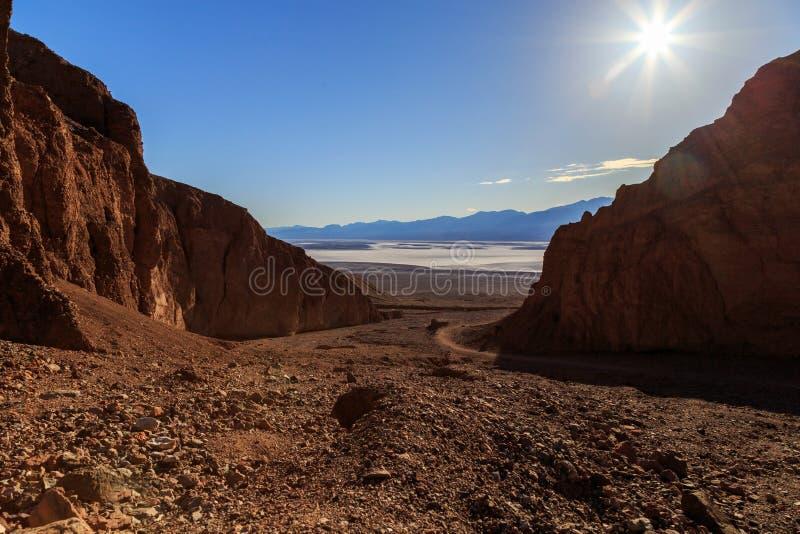 死亡谷国家公园 图库摄影