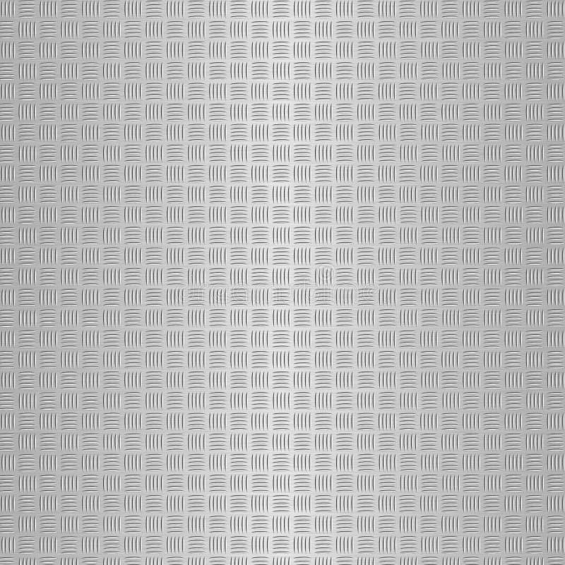 交叉涂画treadplate 免版税图库摄影