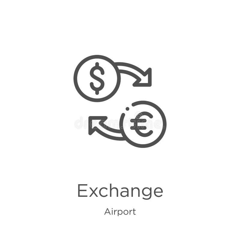 交换从机场汇集的象传染媒介 稀薄的线交换概述象传染媒介例证 概述,稀薄的线交换 皇族释放例证