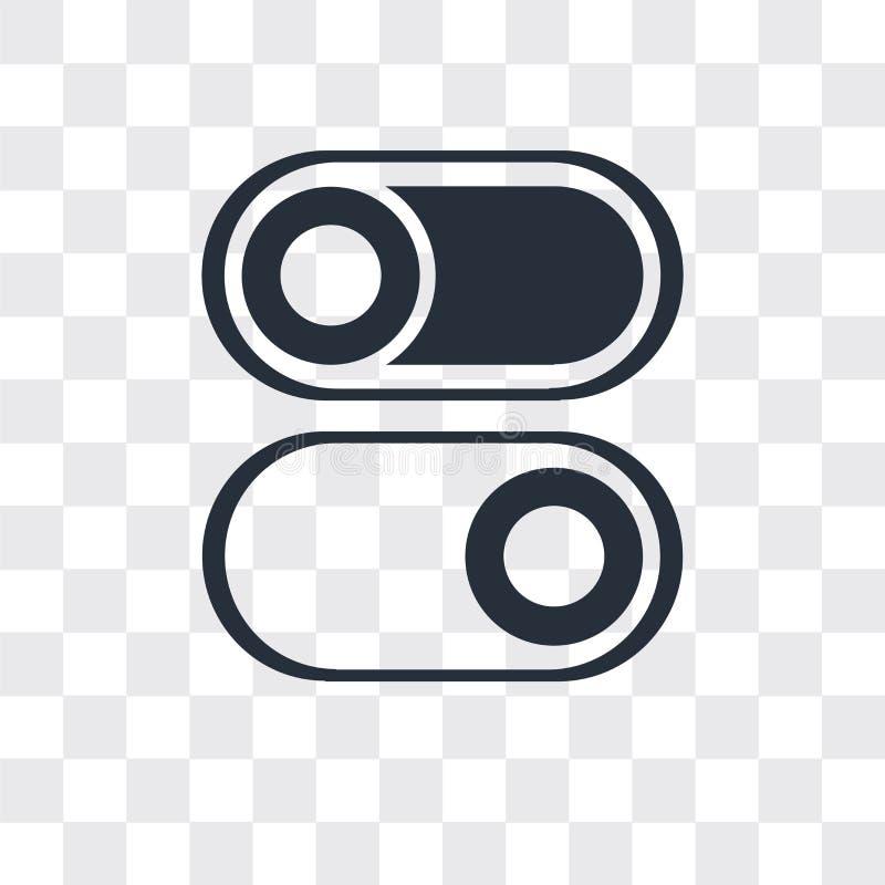 交换在透明背景的传染媒介象,交换商标设计 向量例证