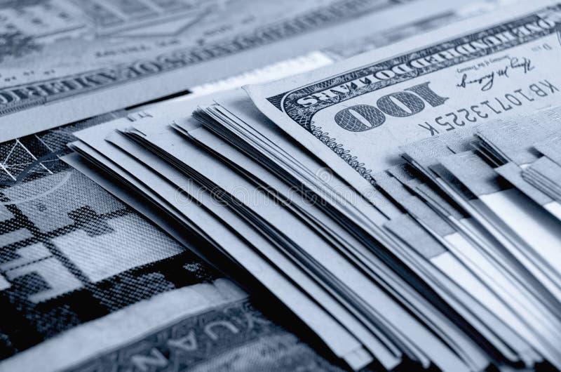 交换率和猜想 免版税库存图片