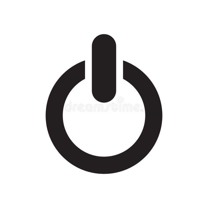 交换象传染媒介标志,并且在白色背景隔绝的标志,交换商标概念 库存例证
