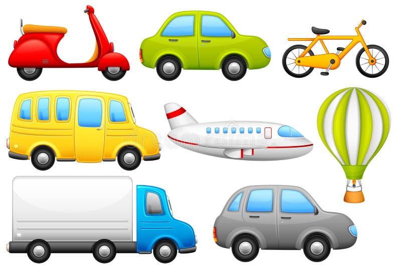 交通工具 向量例证