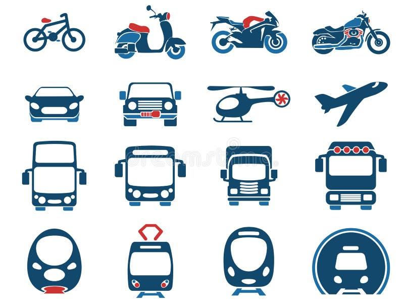 交通方式象 向量例证