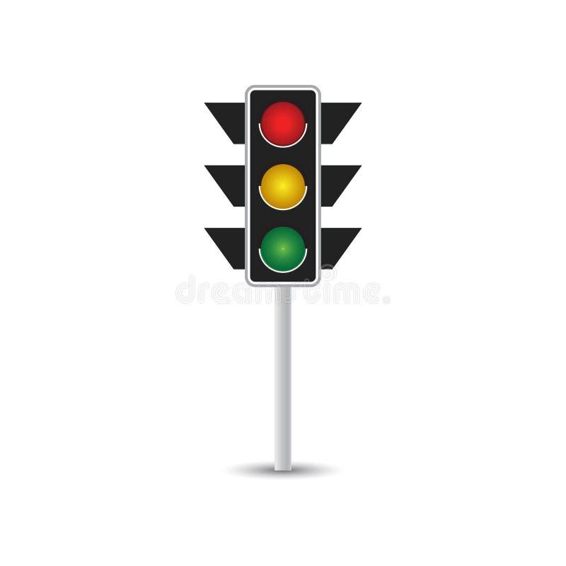 交通标志图表模板 向量例证