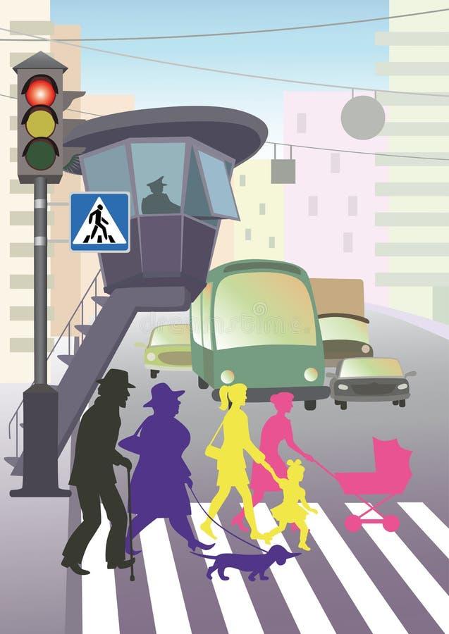 交通法律 库存例证