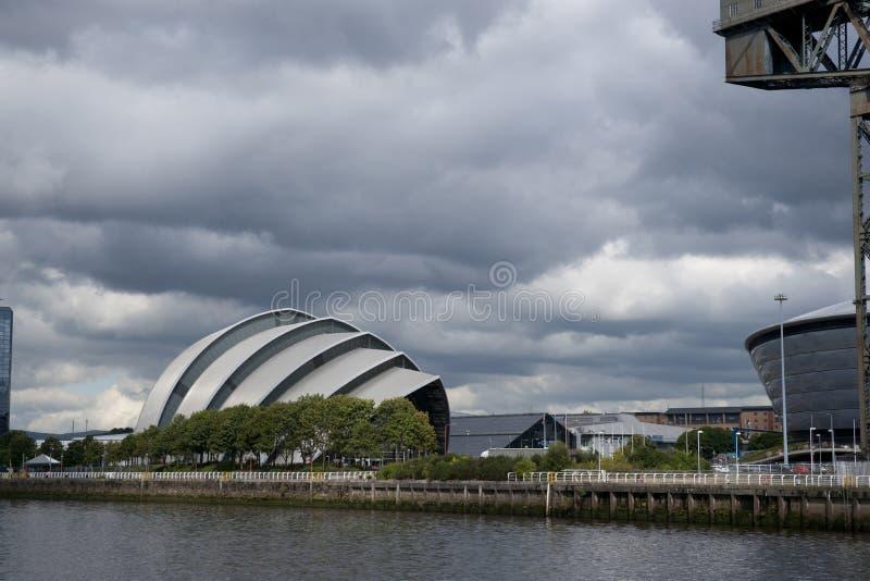 亦称格拉斯哥,苏格兰,2013年9月7日,SEC克莱德观众席SEC犰狳 免版税库存图片
