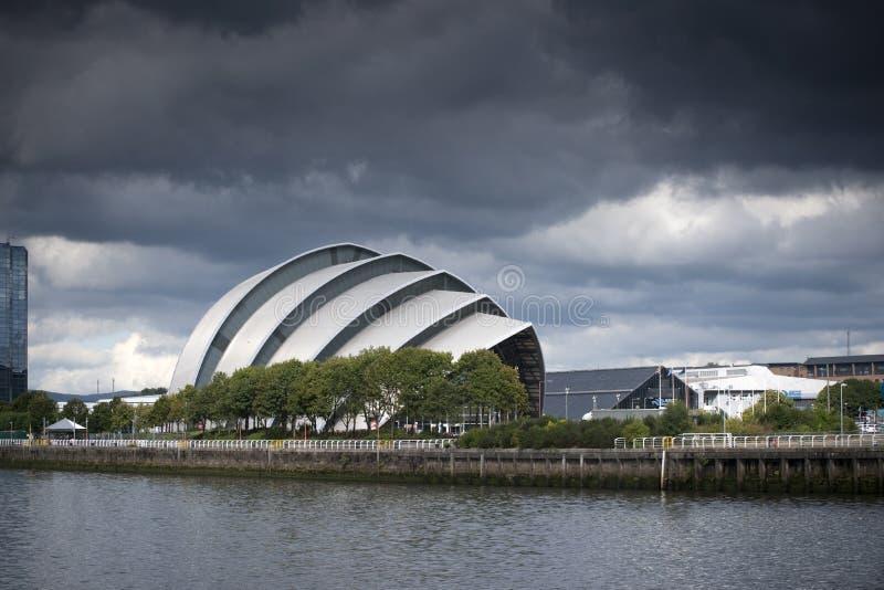 亦称格拉斯哥,苏格兰,2013年9月7日,SEC克莱德观众席SEC犰狳 库存图片